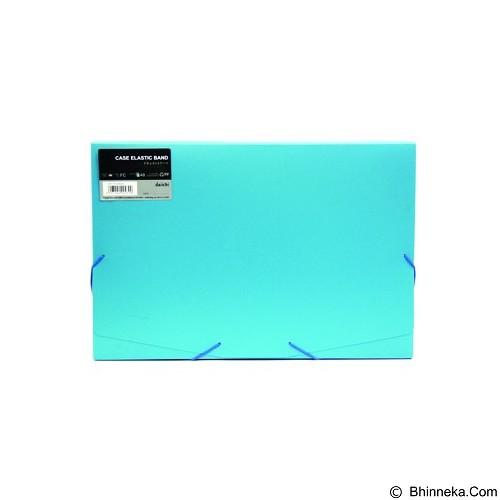 DAIICHI Case Elastic Band [FC 40 DOF] - Aqua Blue - Box File