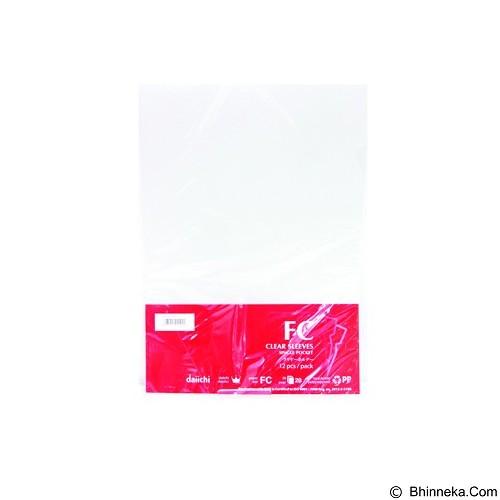 DAIICHI Clear Sleeves 12 Pcs [9002] - White - Map Plastik