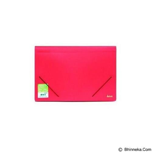 DAIICHI DCS Expanding File FC 5 [DCS13FC101005] - Classic Red - Expandable Folder