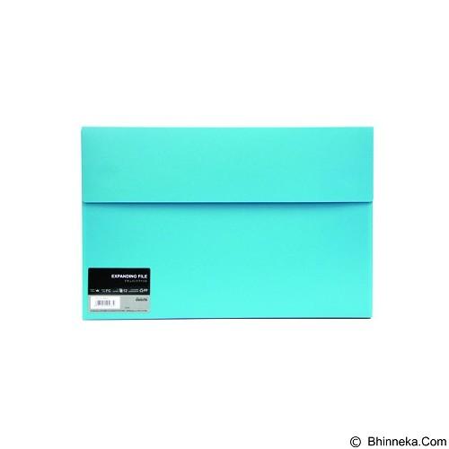 DAIICHI Expanding File [FC 12 DOF] - Aqua Blue - Expandable Folder