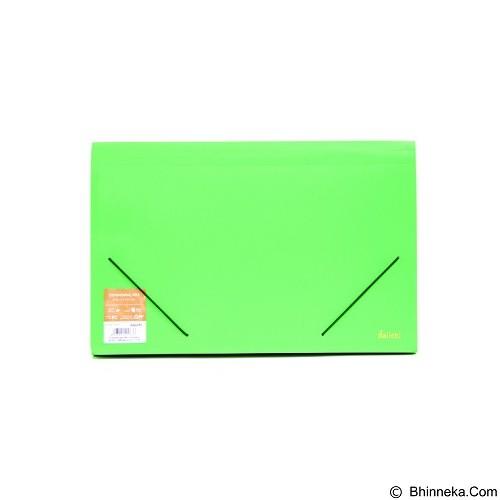 DAIICHI Expanding File [FC12 DCS] - Classic Green - Expandable Folder