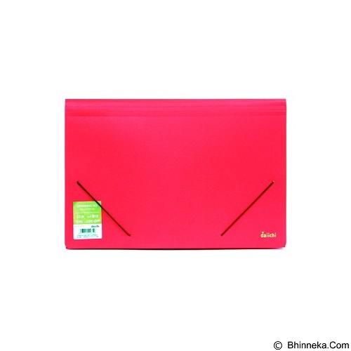 DAIICHI Expanding File [FC12 DCS] - Classic Red - Expandable Folder
