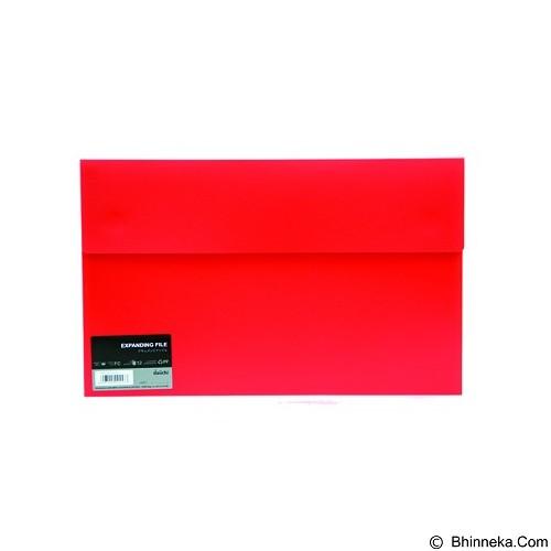 DAIICHI Expanding File [FC12 DOF] - Classic Red - Expandable Folder
