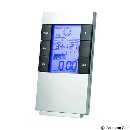 DAIKAZERA SHOP Weather Station Humidity Temperature Alarm Desk Clock (Merchant) - Air Humidifier
