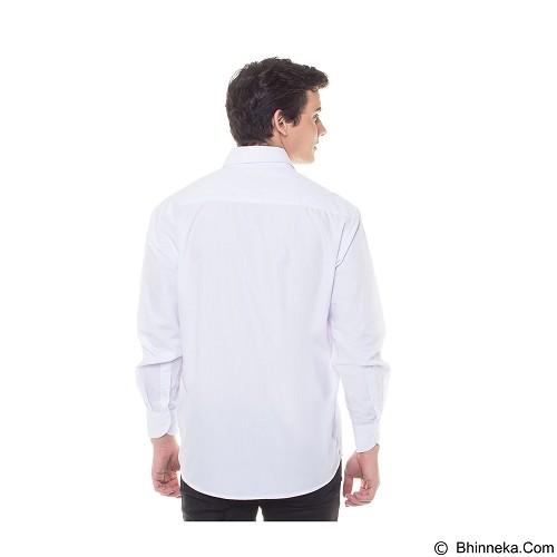 DAMON Kemeja Tangan Panjang Polos Size 17½ [H41752] - White (Merchant) - Kemeja Lengan Panjang Pria