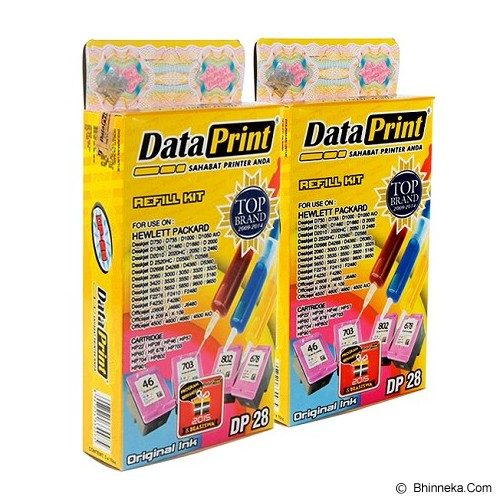 DATAPRINT Bundling Tinta Warna [DP-28] - Tinta Printer Refill