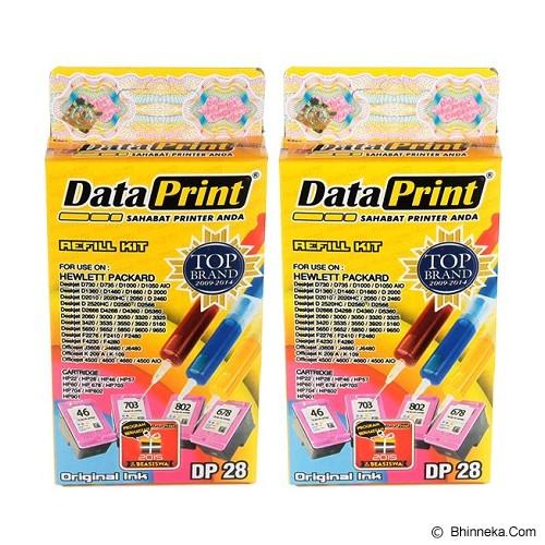 DATAPRINT Bundling Tinta Warna [DP-28] - Tinta Printer Refill