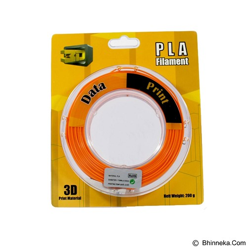DATAPRINT PLA Filament 1.75mm - Orange (Merchant) - Engraving and Milling Accessory