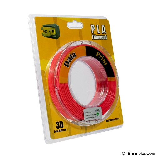 DATAPRINT PLA Filament 1.75mm - Red (Merchant) - Engraving and Milling Accessory
