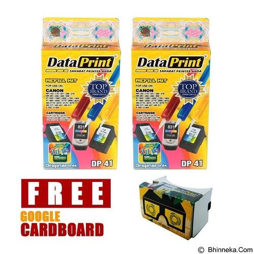DATAPRINT Paket Tinta Refill (DP41 & DP41) + Cardboard v2 (Merchant) - Tinta Printer Refill