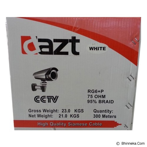 DAZT Kabel CCTV [RG6+Power] - Black - Cctv Accessory