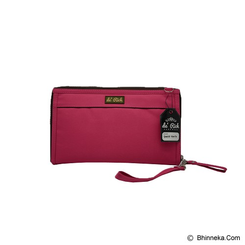 DE'RICH Dompet Maxi Tali Panjang - Magenta - Cross-Body Bag Wanita