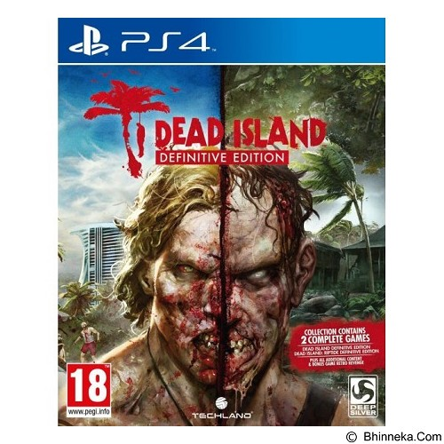 DEEP SILVER Dead Island Definitive Edition PlayStation 4 (Merchant) - CD / DVD Game Console