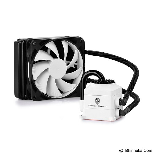 DEEPCOOL Captain 120 Liquid Cooler - White - Cpu Cooler