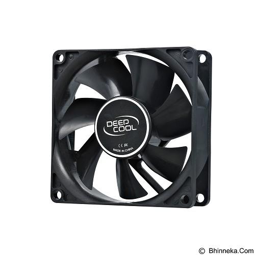 DEEPCOOL Case Fan [XFAN 80] - Black - Kipas Komputer