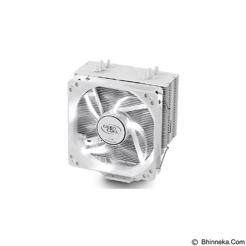 DEEPCOOL Gammaxx 400 12cm Fan White LED with PWM Control - White (Merchant) - Cpu Cooler