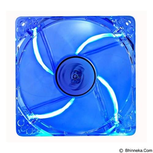 DEEPCOOL Transparent Cooling [XFAN 120L/B] - Blue - Kipas Komputer