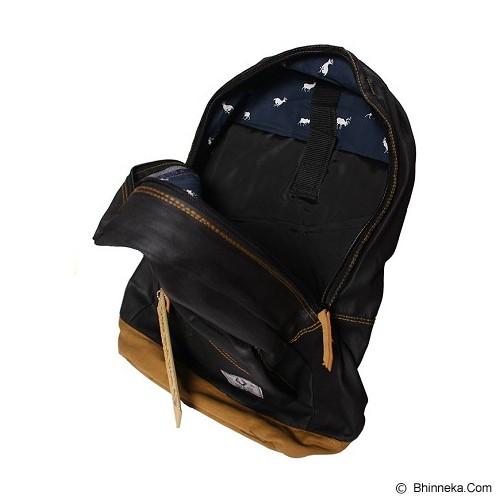 DEER AND DOE Backpack Bag Dry - Black Coated - Notebook Backpack