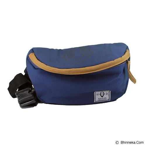 DEER AND DOE Hip Bag - Blue Navy - Travel Shoulder Bag