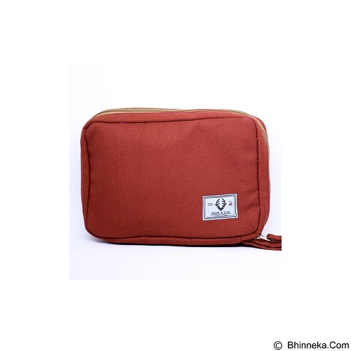 DEER AND DOE Pouch Bag - Red Brick (Merchant) - Travel Bag