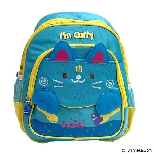 DEERDE Ransel Play Group Cat - Blue - Tas Anak
