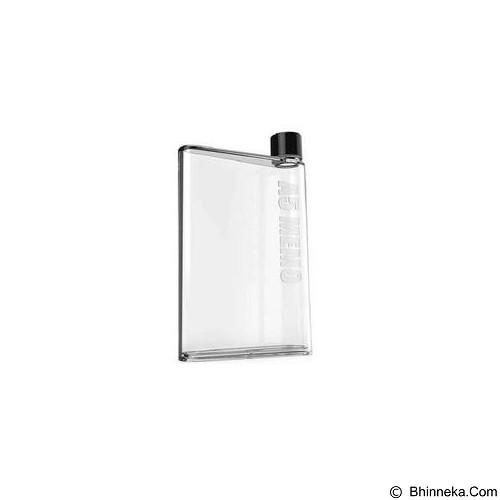 DEERUMA Memo Bottle A5 Letter Reusable Water Bottles 420ml - Transparent (Merchant) - Sport Water Bottle / Botol Minum