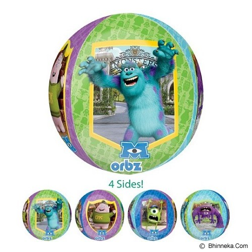 DEITY HOUSE Orbz Monster University [A2840101] - Balon