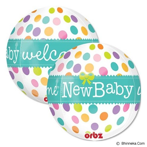 DEITY HOUSE Orbz New Baby [A2837101] - Balon