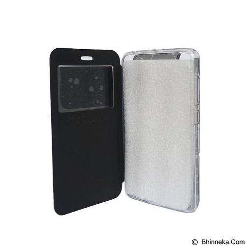 DELKIN Flip Cover Andromax C2 - Black (Merchant) - Casing Handphone / Case