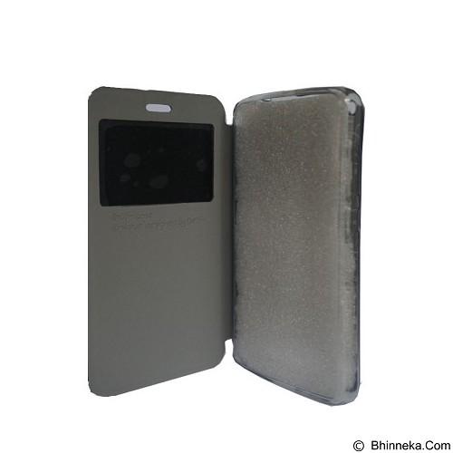 DELKIN Flip Cover Samsung Note 4 - Grey (Merchant) - Casing Handphone / Case