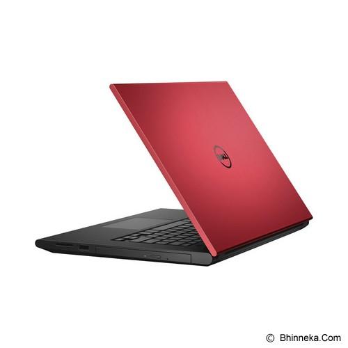 harga DELL Inspiron 14 3442 Non Windows (Pentium 3558U) - Red (C) Bhinneka.Com