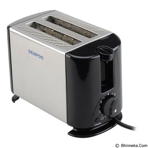 DENPOO Pemanggang Roti Elektrik [DT-022 D] - Silver/Black (Merchant) - Toaster