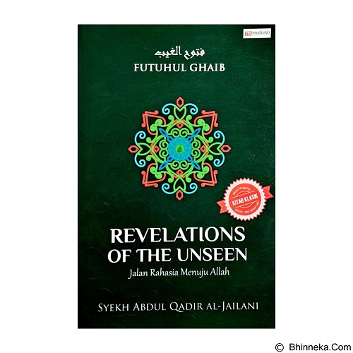 DESAINBUKU REVELATIONS OF THE UNSEEN Jalan Rahasia Menuju Allah (Merchant) - Craft and Hobby Book