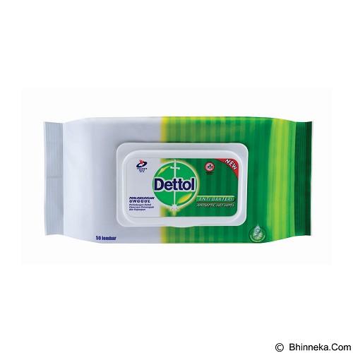DETTOL Wipes 50s - Baby Wipe / Tissue Basah