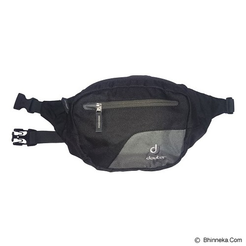 DEUTER Belt II Waist Bag [39010-7410-0] - Black Granite - Tas Pinggang/Travel Waist Bag