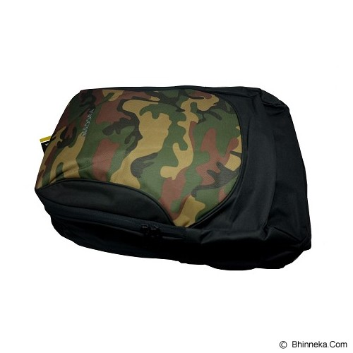 DIADORA Backpack Bag [DIABPU5705BC] - Black/Army - Tas Punggung Sport / Backpack