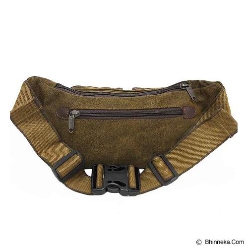 DIESEL Tas Pinggang [M090] - Brown - Tas Pinggang/Travel Waist Bag