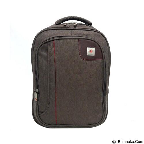 SAN PAOLO Tas Ransel Impor [1686] - Brown (Merchant) - Notebook Backpack