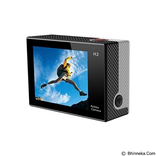 DIKLIKAJA Action Camera 4K Single Screen [DKA-ACAM-1LCD-BLK] - Black (Merchant) - Camcorder / Handycam Flash Memory
