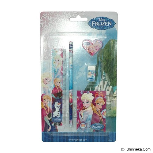DISNEY Frozen Stationery set [FZ06025ST-B] - Paket Alat Tulis