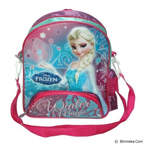 DISNEY Small Backpack Frozen [FZ924038] - Green Pink - Tas Anak