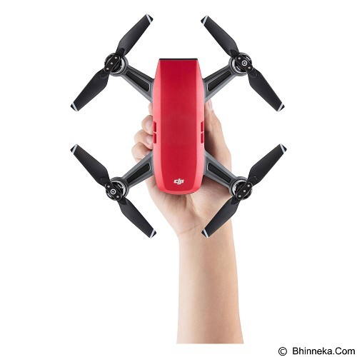 DJI Spark Fly More Combo - Lava Red (Merchant) - Drone