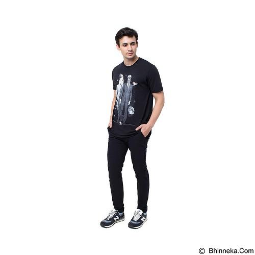 DOCDENIM Men Chinos Kronoss Slim Comfort Fit Size 32 - Black (Merchant) - Celana Jeans Pria