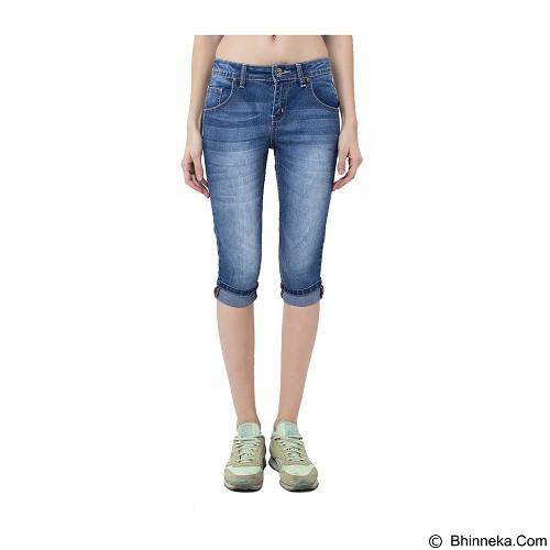 DOCDENIM Ladies Arwen RU 3/4 Skinny Fit Size XXL - Blue (Merchant) - Celana Jeans Wanita