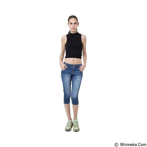 DOCDENIM Ladies Jeans Arwen 7/8 Skinny Fit Size L - Blue (Merchant) - Celana Jeans Wanita