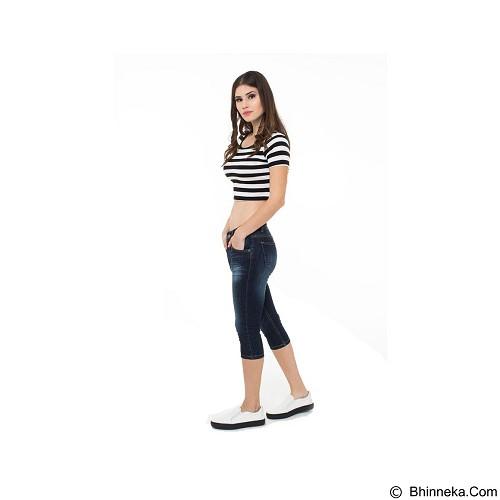 DOCDENIM Ladies Jeans Quantico 7/8 Slim Fit Size XXL - Blue (Merchant) - Celana Jeans Wanita