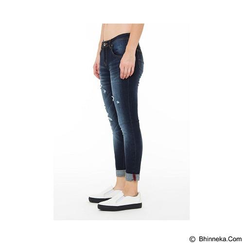 DOCDENIM Ladies Magnificent RU Slim Fit Size S - Blue (Merchant) - Celana Jeans Wanita