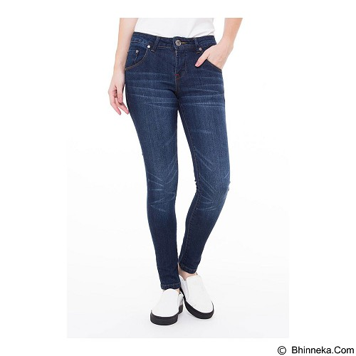 DOCDENIM Ladies Racheilla Super Slim Fit Size S - Blue (Merchant) - Celana Jeans Wanita