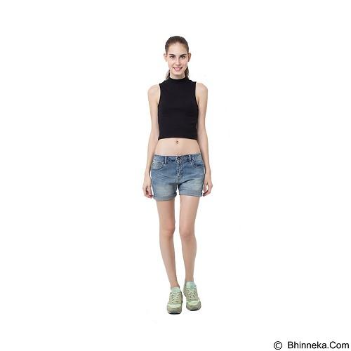 DOCDENIM Ladies Short Hayley RU Slim Fit Size S - Blue (Merchant) - Celana Pendek Wanita