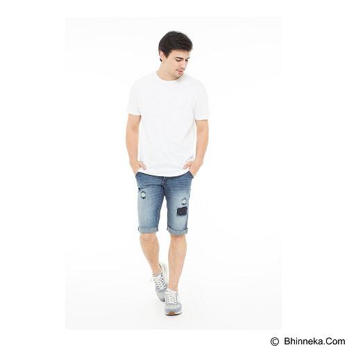 DOCDENIM Men Bronx RU Short Slim Fit Size 34 - Blue (Merchant) - Celana Pendek Pria